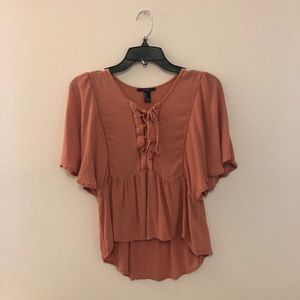 Forever 21 Rose Top